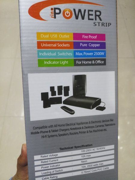 Used Smart Extension Board #Packed 👌 in Dubai, UAE