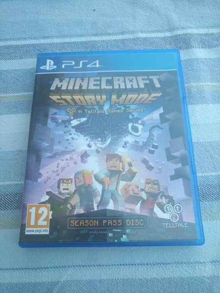 Used Minecraft Story Mode for PS4 - used once in Dubai, UAE