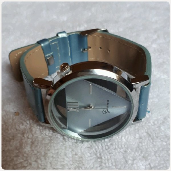 Used Geneve watch blue color... in Dubai, UAE