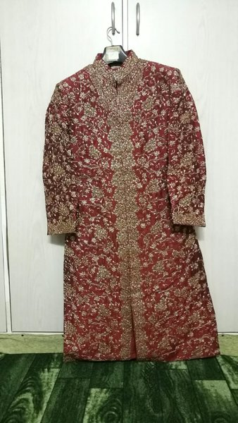 Used Zardosi work Sherwani in Dubai, UAE