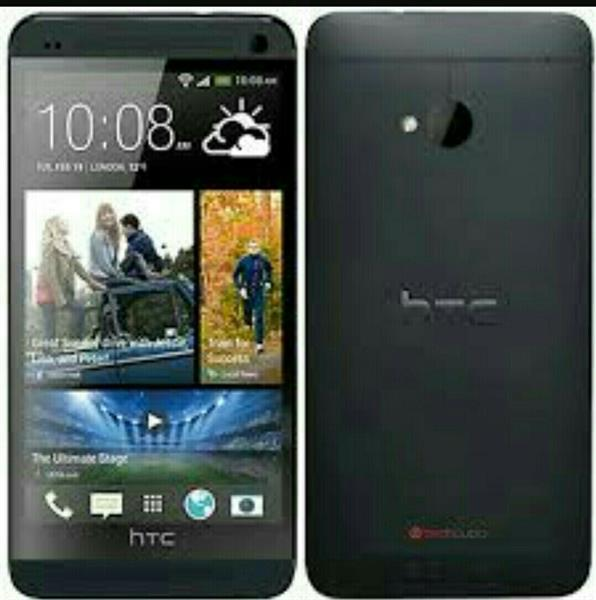 Used HTC M7 32gb Builtin Beats Speaker Only Box Open Un Used in Dubai, UAE
