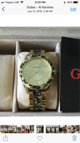 Used Guess for ladies watch. Brand new. in Dubai, UAE