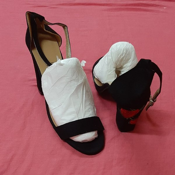 Used Buckle heels 42 size ! in Dubai, UAE