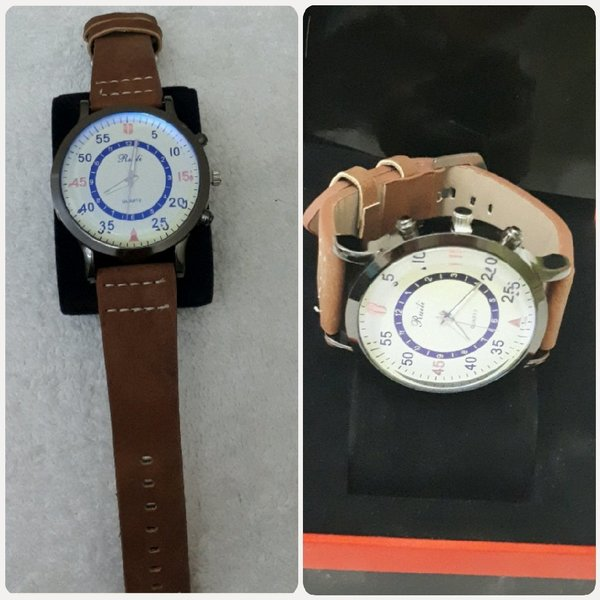 Used Watch for man brown casual wear in Dubai, UAE