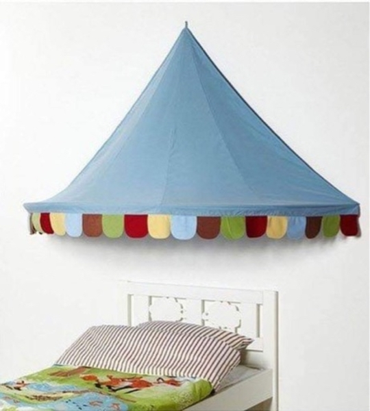 Used Ikea Kid's Bed Canopy in Dubai, UAE