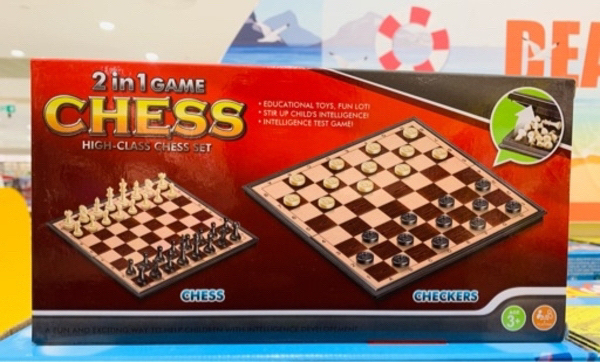 Used Chess And Checkers game 2 in 1 in Dubai, UAE