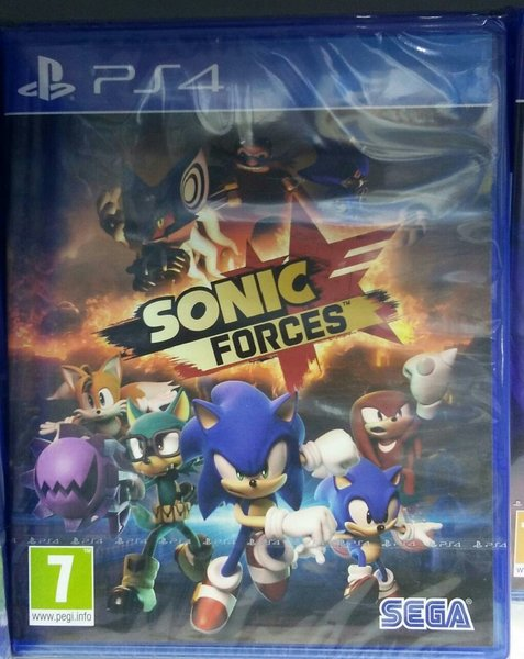 Used Ps4 game - SONIC FORCES in Dubai, UAE