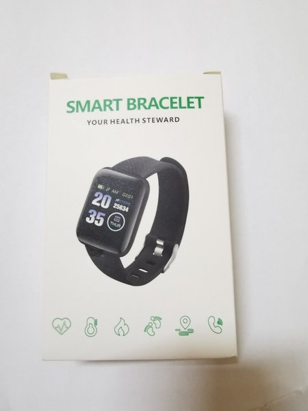 Used Smart bracelet black fitness, in Dubai, UAE