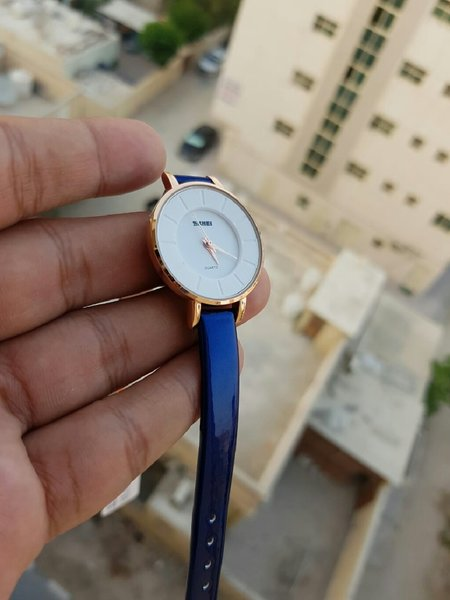 Used Royal Blue Stylish Ladies Watch [in BOX] in Dubai, UAE