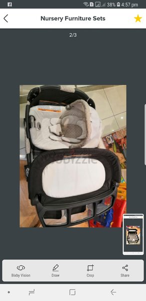 Used Graco Baby Crib From baby shop Brand New in Dubai, UAE