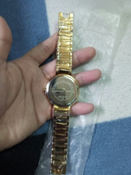 Used Gold Mk Watch for Ladies-Brand New in Dubai, UAE