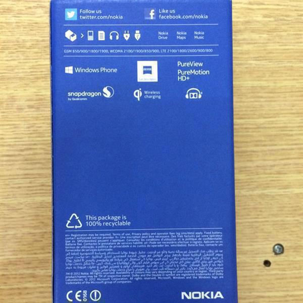 Used Brand New Nokia Lumia 920 With All Original Accessories & Box , Used Only 2 Days . in Dubai, UAE