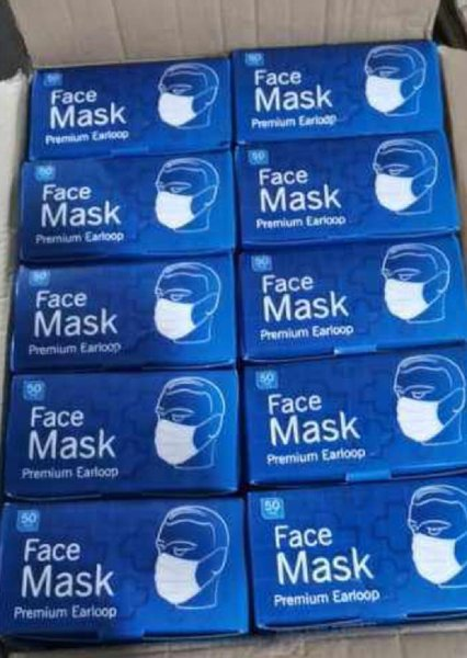 Used Face mask 3 ply certified quality in Dubai, UAE