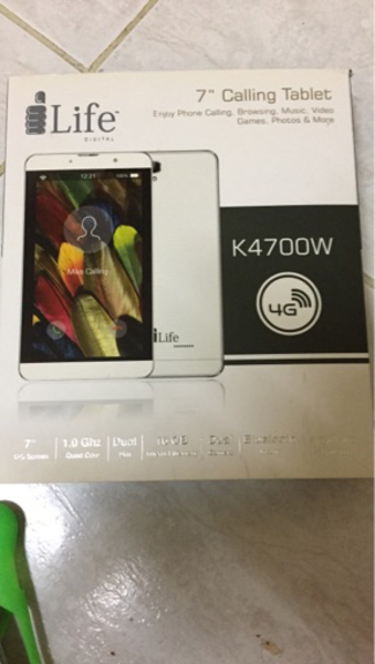 Used Ilife k4700W 4G Calling Tab in Dubai, UAE