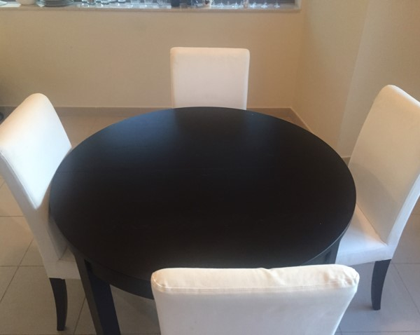 Used Dining Table Plus 4 Chairs in Dubai, UAE