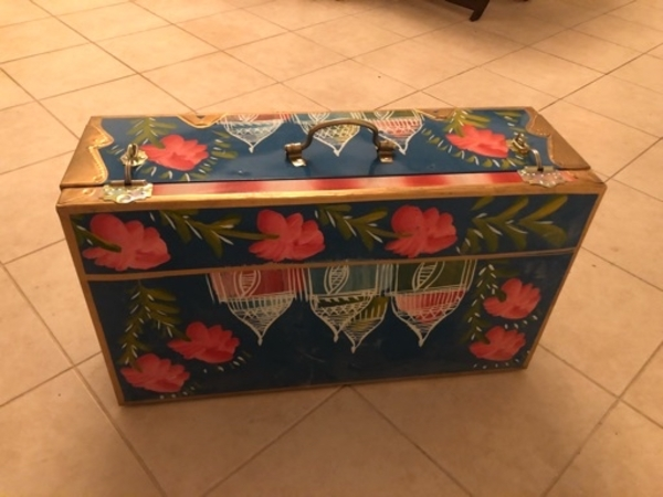 Used Vintage Antique Metallic Treasure Box in Dubai, UAE