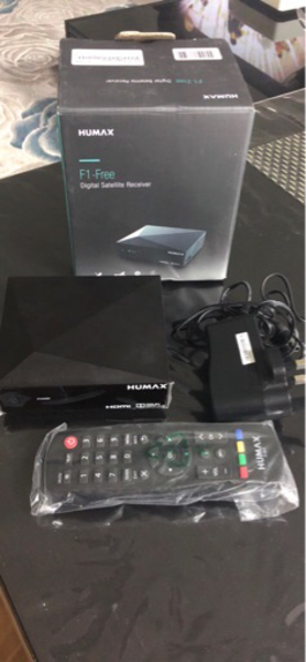 Used Humax Digital Satellite Receiver  in Dubai, UAE