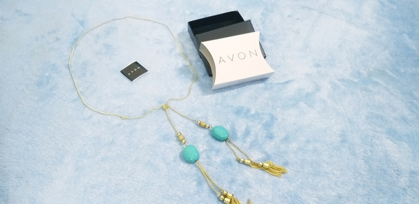 Used Avon Necklace Gold Plated in Dubai, UAE