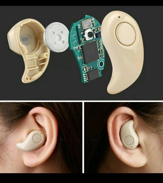 4.0stereo Mini Wireless Bluetooth earphone Universal For All Mobile [White]