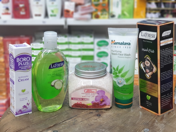 Used Face care gift package in Dubai, UAE