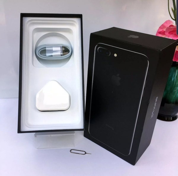 Used iPhone 7 Plus Box Only With Accessories in Dubai, UAE