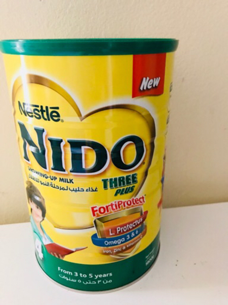 Used Nido Powdered Milk ( 3 to 5 years ) in Dubai, UAE