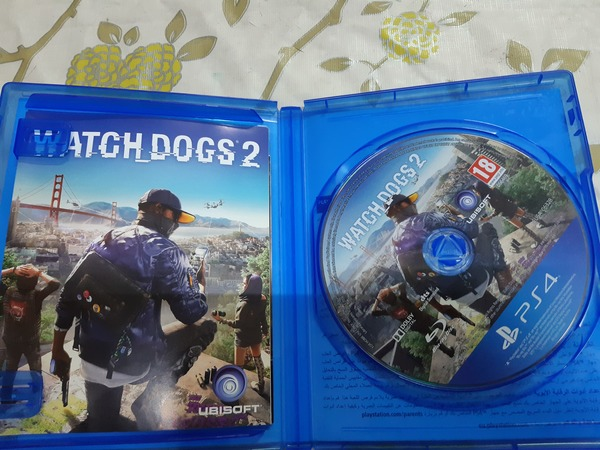 Used Watch dogs 2 ps4 in Dubai, UAE