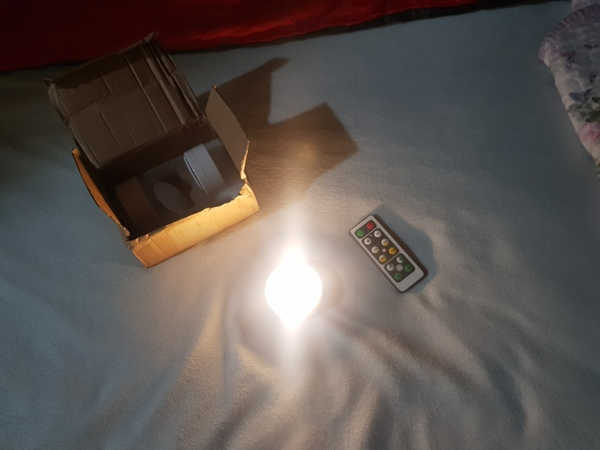 Used Remote set light for romantic in Dubai, UAE