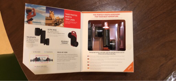 Used Olloclip Active Lens for 6/6s & plus in Dubai, UAE