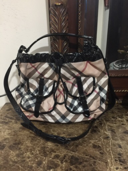 Used Burberry two way Bag Authentic preloved  in Dubai, UAE