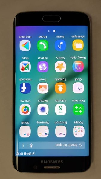 Used Samsung galaxy S6 edge 32GB in Dubai, UAE