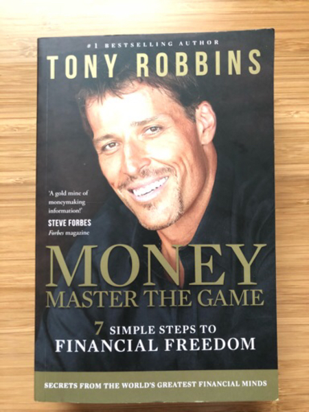 Used Tony Robbins - Money Master the Game in Dubai, UAE