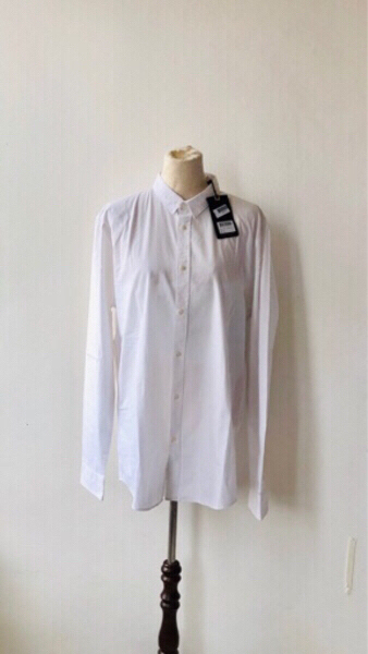 Used Scotch & Soda White Long Sleeves Polo in Dubai, UAE