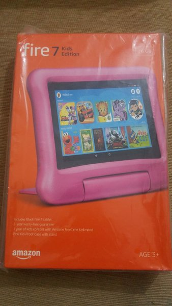 Used Fire 7 tab kids edition and brand new in Dubai, UAE