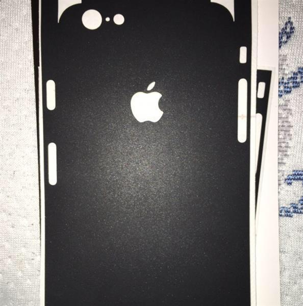 Used iPhone 6 And 6s Skin. Matte Black  in Dubai, UAE