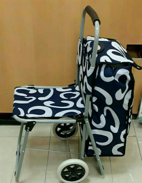 Used shopping Trolly With Chair U Can also carry tools and etc in Dubai, UAE