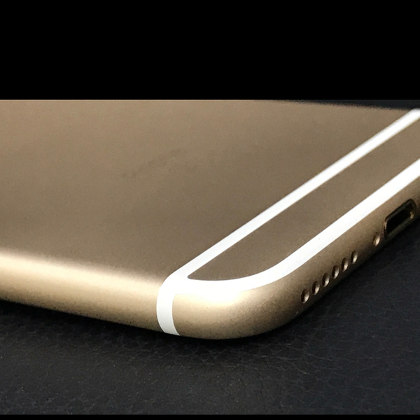 Used iPhone6s body gold color original new  in Dubai, UAE