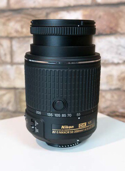Used Nikon 55-200mm VR Lens in Dubai, UAE