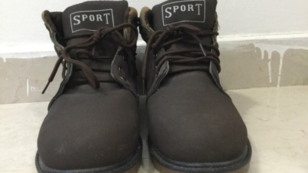 Used Brown Soft Shoes comfortable from inside in Dubai, UAE