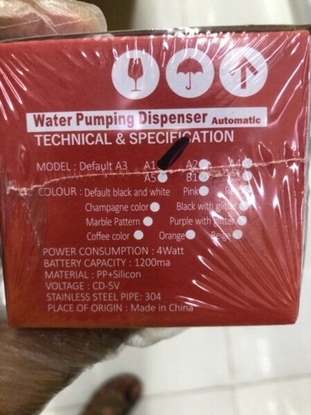 Used Water pumping rechargeable dispenser new in Dubai, UAE