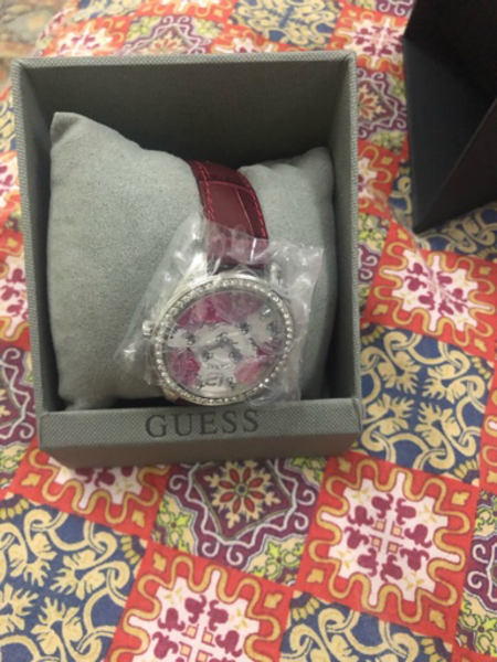 Used Red guess watch in Dubai, UAE