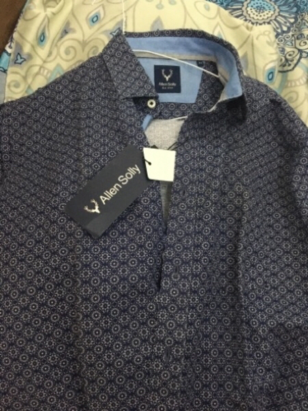 Used Allen solly Size 42 shirt in Dubai, UAE