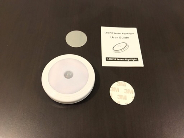 Used NEW LED PIR Sensor Night Light Wireless^ in Dubai, UAE