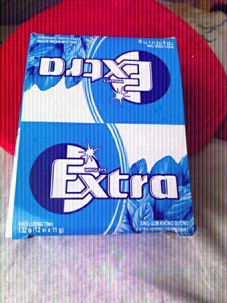 Used New Extra chewing gum 12pkt in 1box 32g in Dubai, UAE
