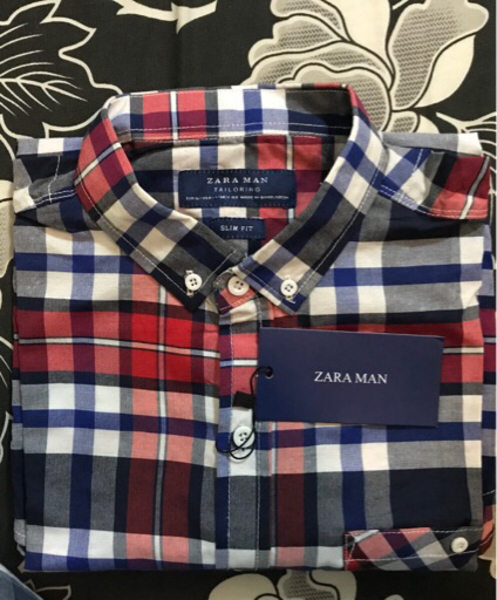Used Zara man 100% Cotton Shirt Authentic in Dubai, UAE