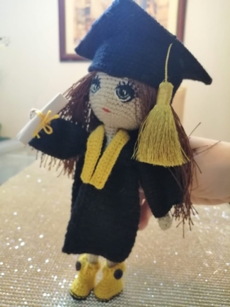 Used Handmade doll #2 in Dubai, UAE