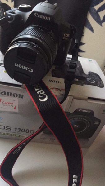 Used Canon Eos1300D in Dubai, UAE