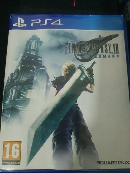 Used Ps4 Final fantasy 7 remake in Dubai, UAE