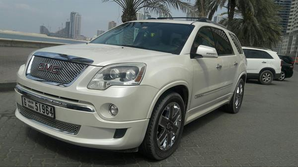Used GMC Acadia Denali 4x4 Full Options  Panoramic Roof 1st Owner Of UAE Very Low Miles 40K Car  in Dubai, UAE