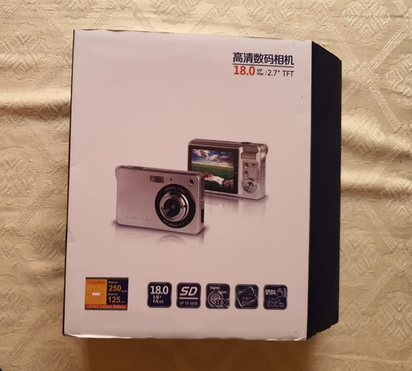 Used 18M HD digital camera video NEW in Dubai, UAE